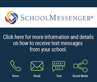SchoolMessenger. Click here for more information and details on how to receive text messages from your school. Voice. Email. Text. Social Media.